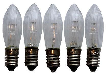 LED - Topkerzen, 5 Stück, 8V-34V
