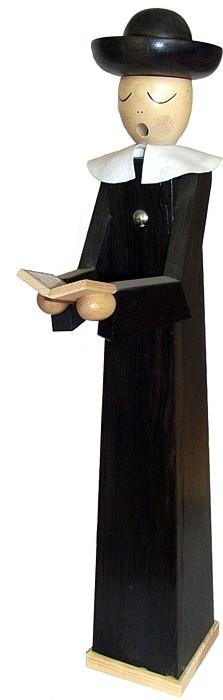 Riesen - Räuchermann Kurrendesänger mit Buch, extra groß