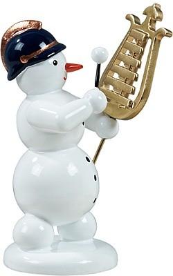 Schneemann mit Lyraglockenspiel