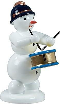 Schneemann mit Trommel