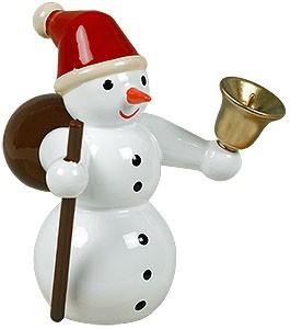 Schneemann als Weihnachtsmann