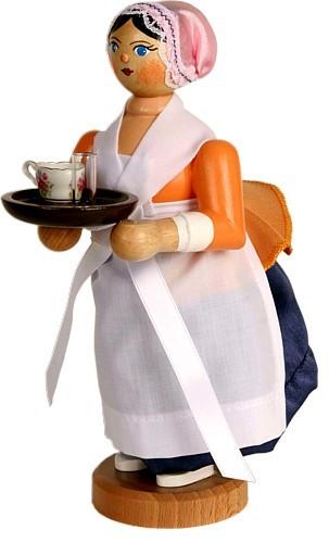 Räucherfigur,  Schokoladenmädchen