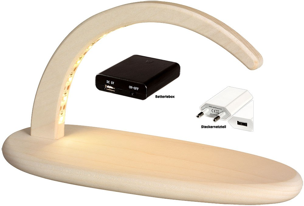 Bogen mit LED-Beleuchtung, ohne Figuren
