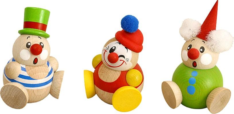Kugelfigur Clowny, 3er Satz