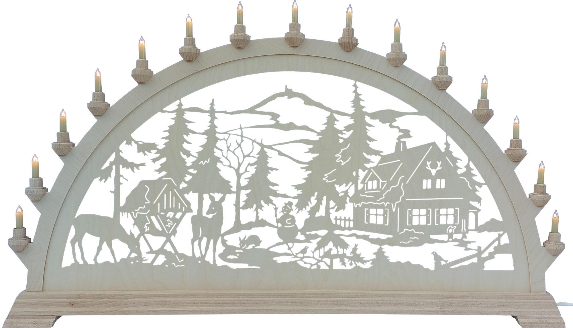 Schwibbogen Forsthaus, groß