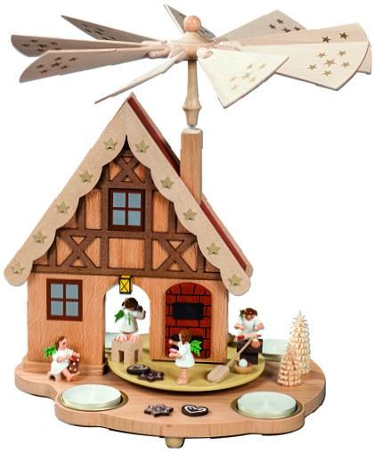 Tischpyramide Haus Engelbäckerei