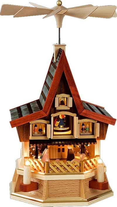 Adventshaus mini