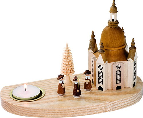 Kerzenhalter Frauenkirche mit Kurrende