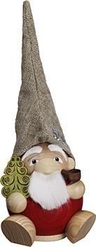 Kugelräucherfigur Waldzwerg Weihnachtsmann