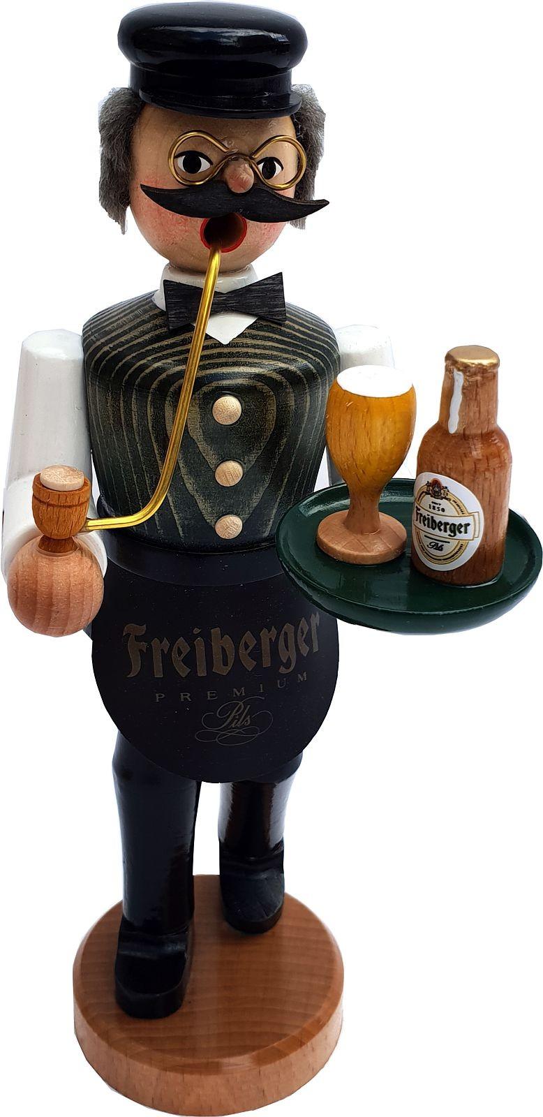 Räuchermann Gastwirt - Freiberger, güne Weste