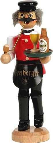 Räuchermann Gastwirt - Freiberger, rote Weste