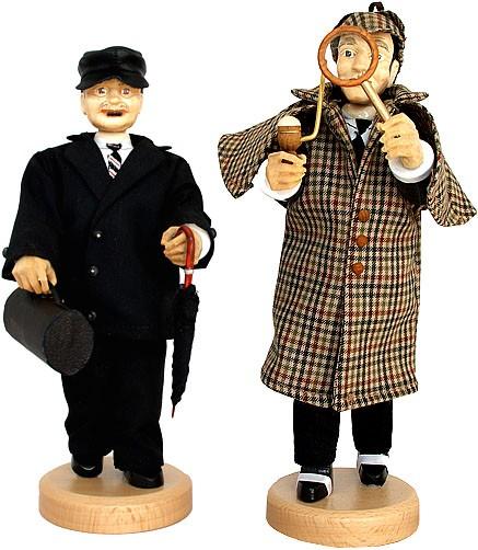 Räuchermann Sherlock Holmes & Dr. Watson