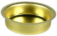 Blecheinsatz für Teelichttülle - Höhe 18 mm