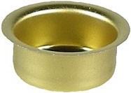 Blecheinsatz für Lichtertülle - 22 mm