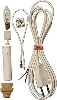Bausatz zur Beleuchtung von Schwibbogen - 10-flammig