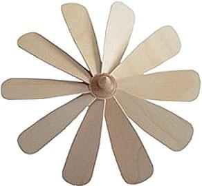 Flügelrad mit festen Flügeln - 230 mm