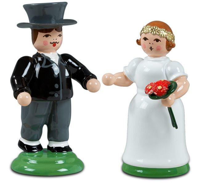 Hochzeitspaar goldene Hochzeit