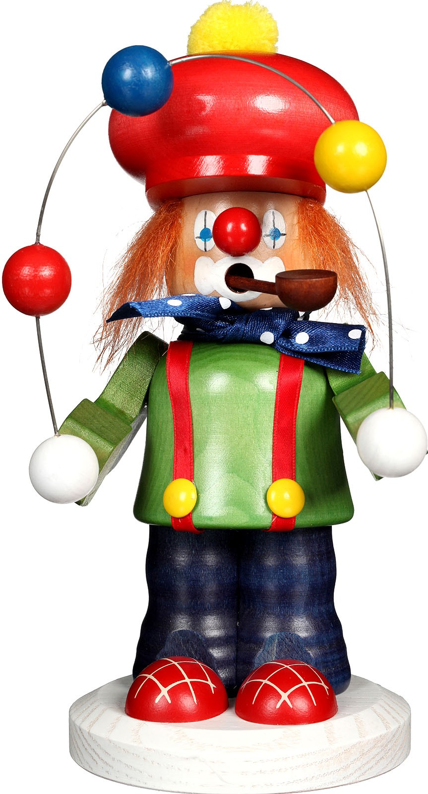 Räuchermann Clown