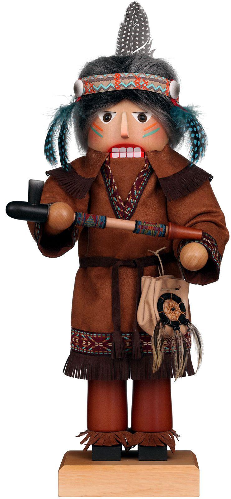 Nußknacker Indianer