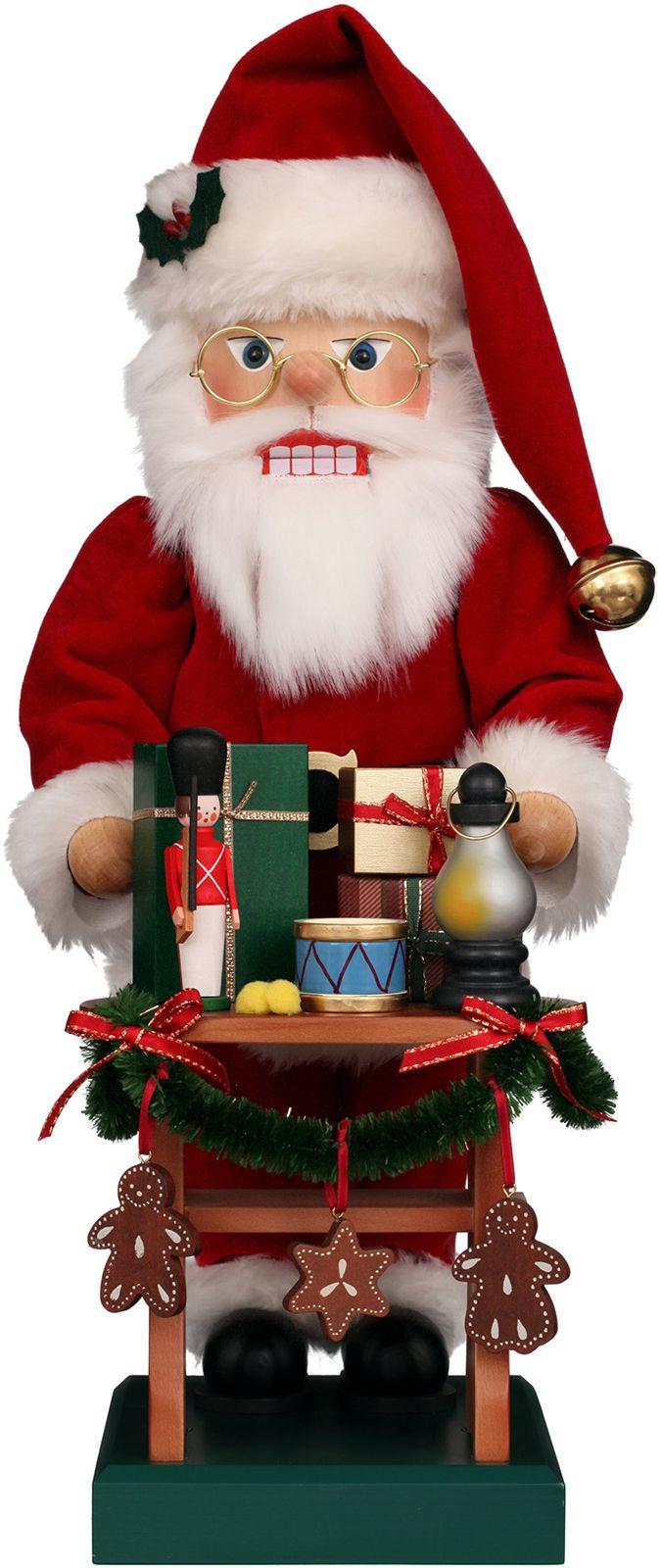 Nußknacker Weihnachtsmann Gabentisch