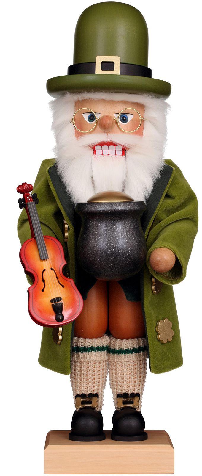 Nußknacker Weihnachtsmann Irish Santa