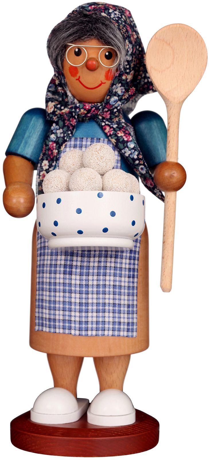 Räuchermann Kloßfrau