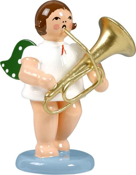 Engel mit Tuba, ohne Krone