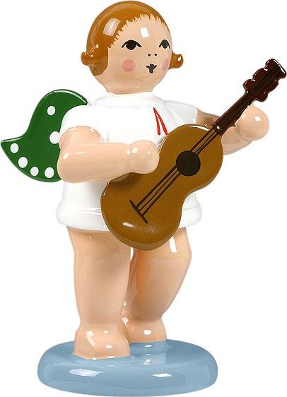 Engel mit Gitarre, ohne Krone