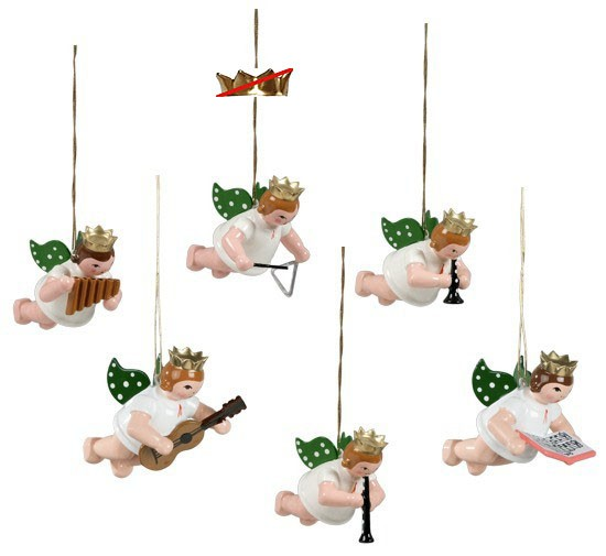 Baumbehang Schwebeengel - Variante 2, ohne Krone