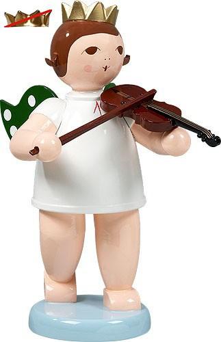 großer Engel mit Geige, ohne Krone