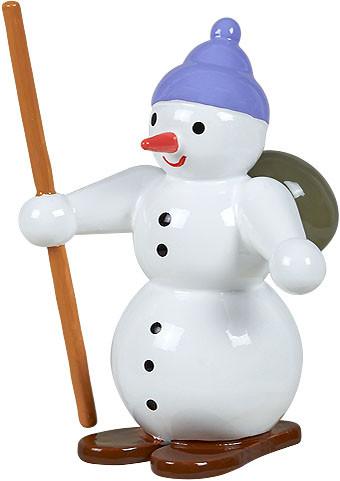 Schneemann - Schneeschuhwanderer