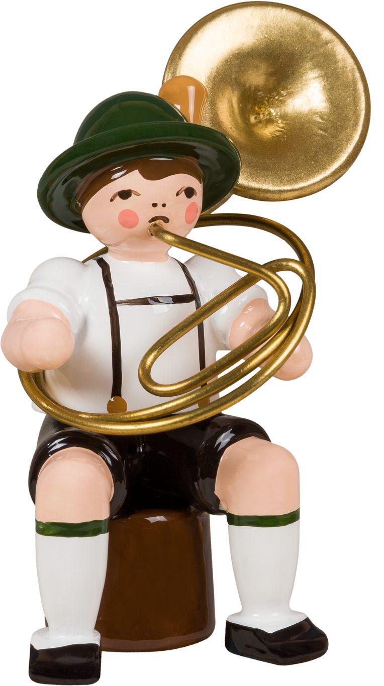 Bayernmusikant mit Sousaphon