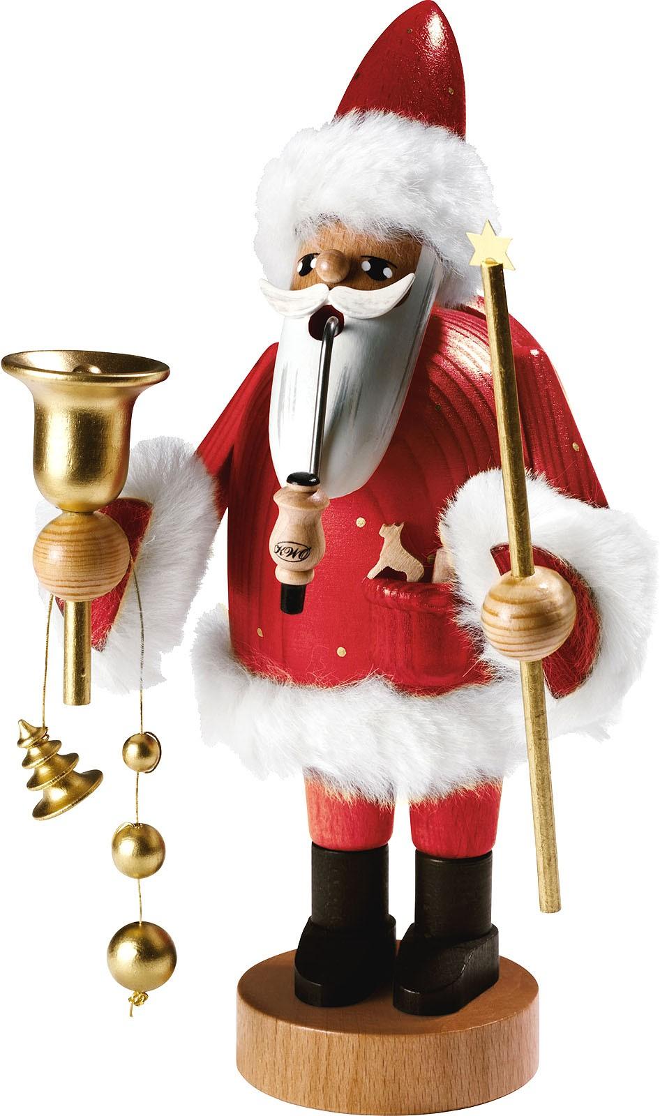 Räuchermann Santa Claus -Die Bärtigen- 18 cm