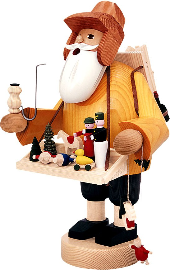 Räuchermann Spielzeughändler -die Bärtigen- 35 cm