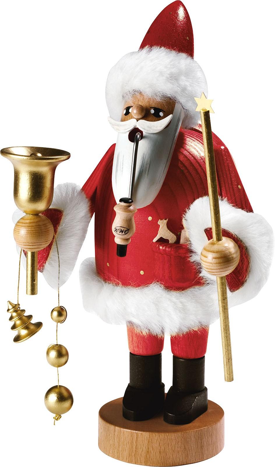 Räuchermann Santa Claus -Die Bärtigen- 37 cm