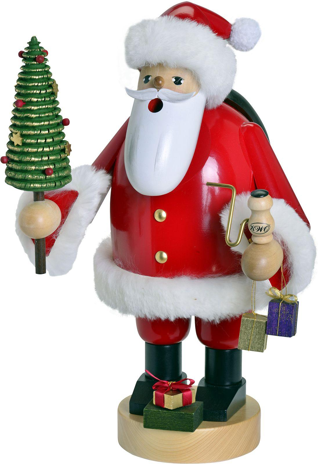 Räuchermann Weihnachtsmann L