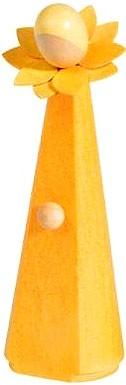 Blumenmädchen, orange