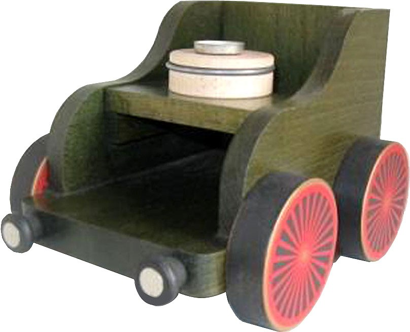 Komponenten für Kantenhockereisenbahn - Eisenbahnwagen