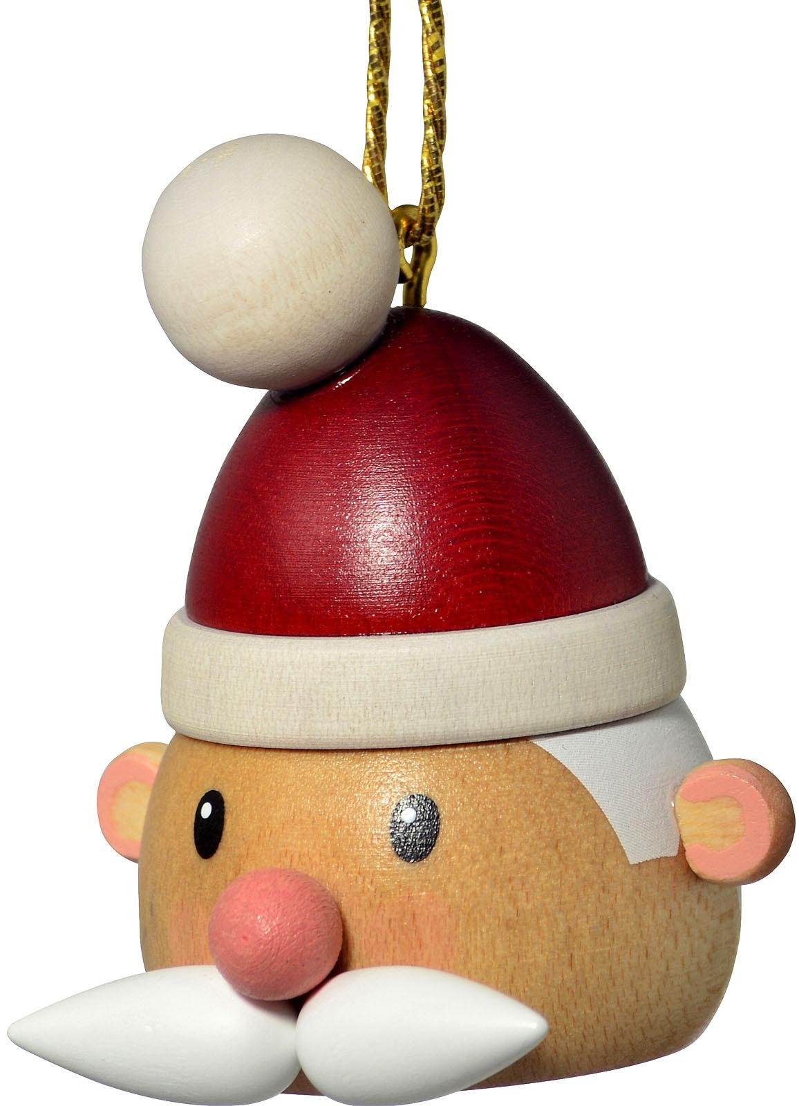 Baumbehang Weihnachtsmannkopf