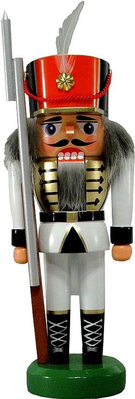 Legler Nussknacker Soldat, weiß, 21 cm