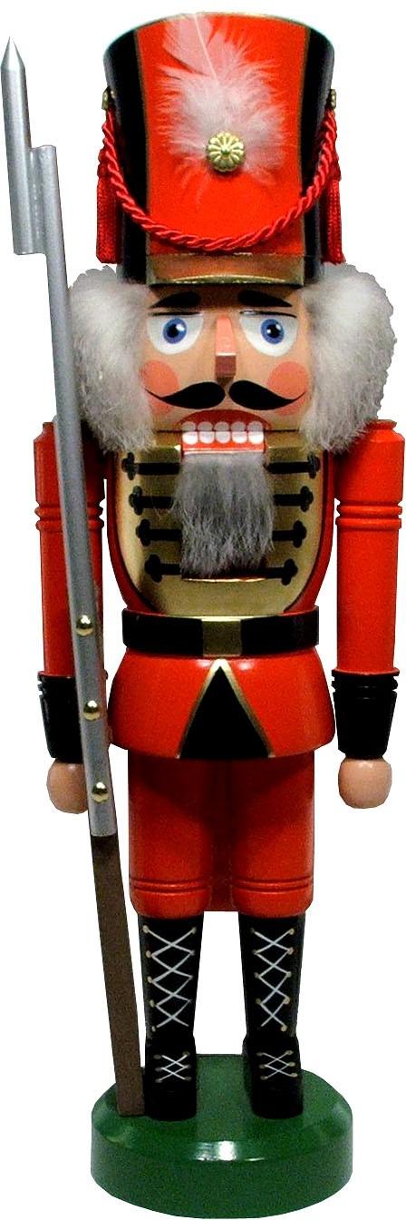 Legler Nussknacker Soldat, rot, 42 cm