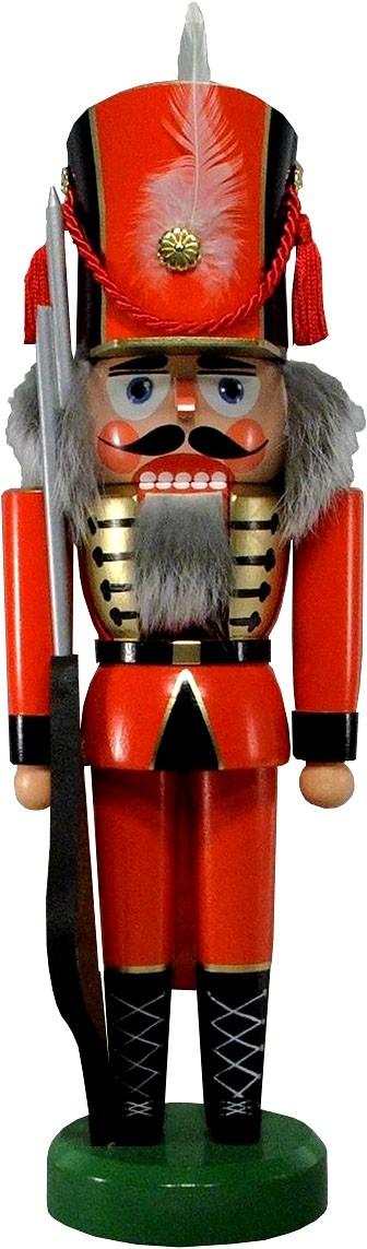 Legler Nussknacker Soldat, rot, 36 cm
