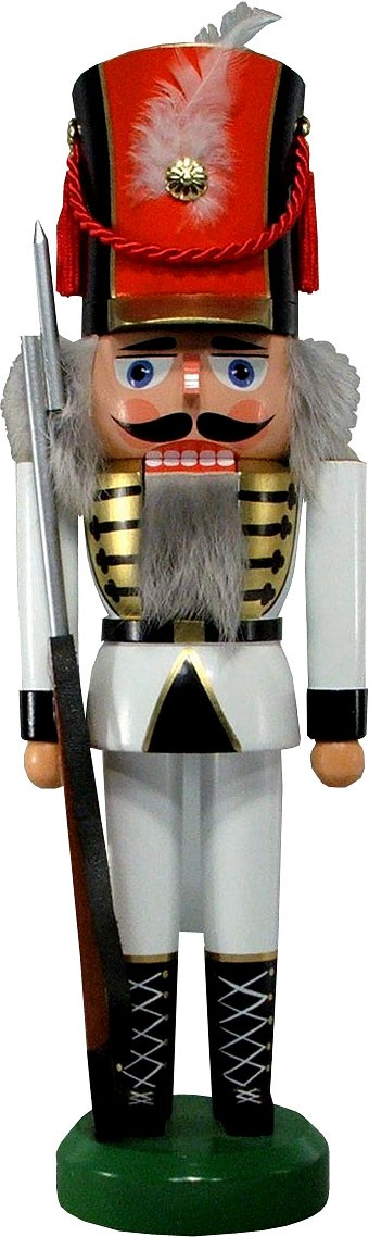 Legler Nussknacker Soldat, weiß, 36 cm