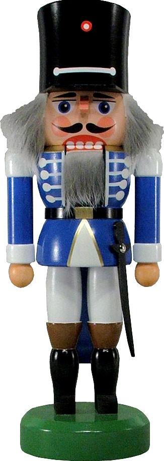 Nussknacker Wachsoldat, blau, 26 cm