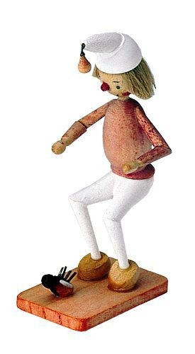 Holzfigur Onkel Fritz