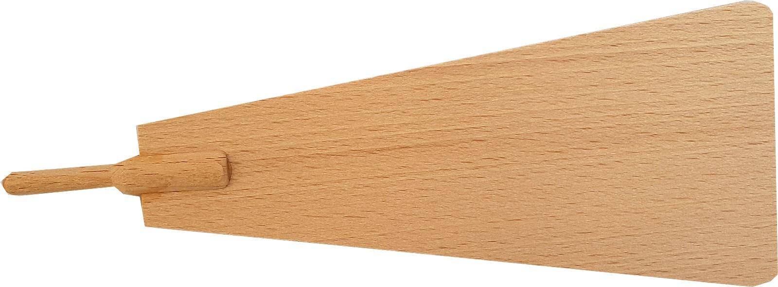 Pyramidenflügel mit Schaft 6 mm Länge 160mm