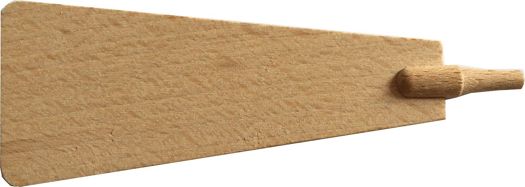 Pyramidenflügel mit Schaft Dms. 5 mm, Länge 80mm