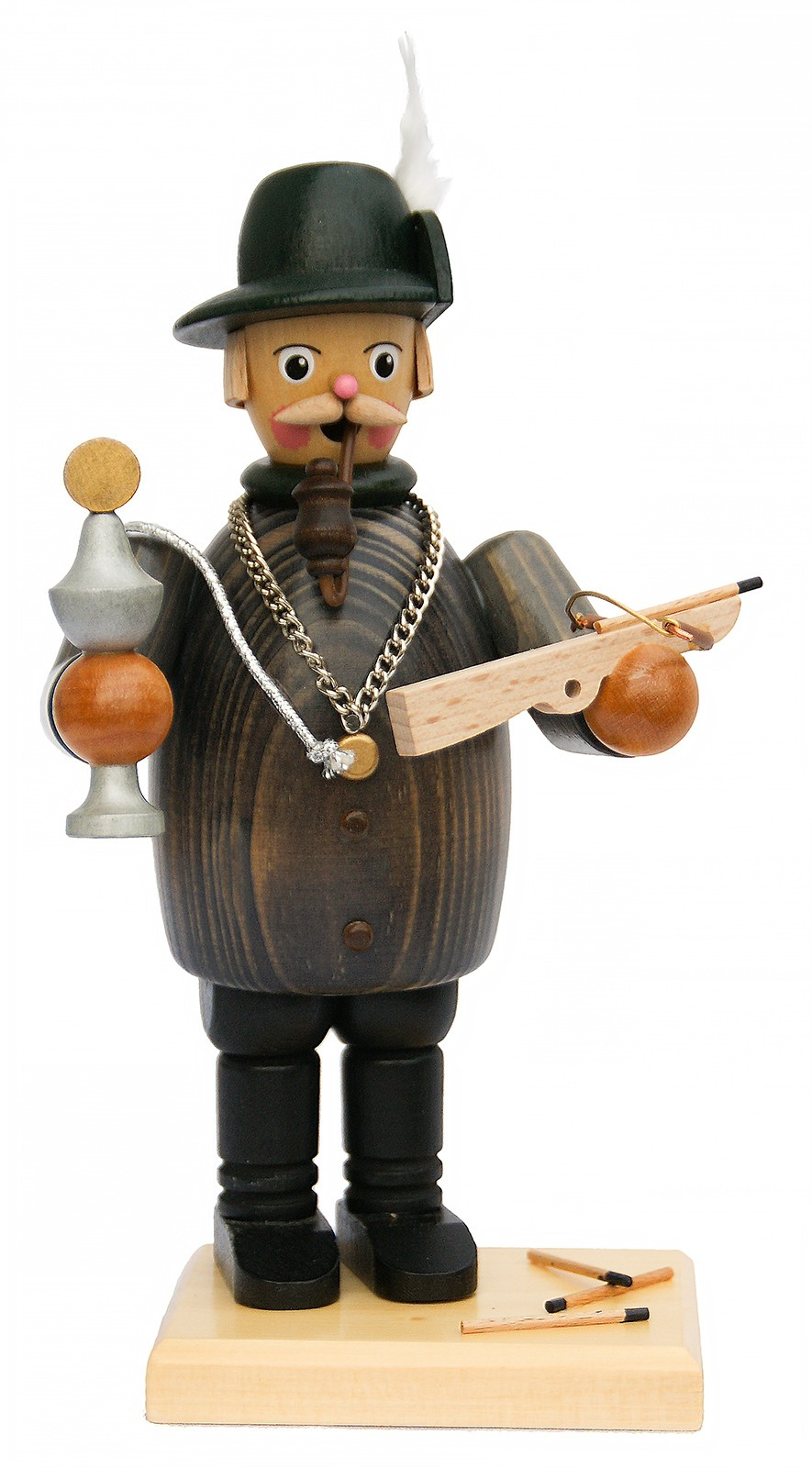 Räuchermann Schütze mit Armbrust