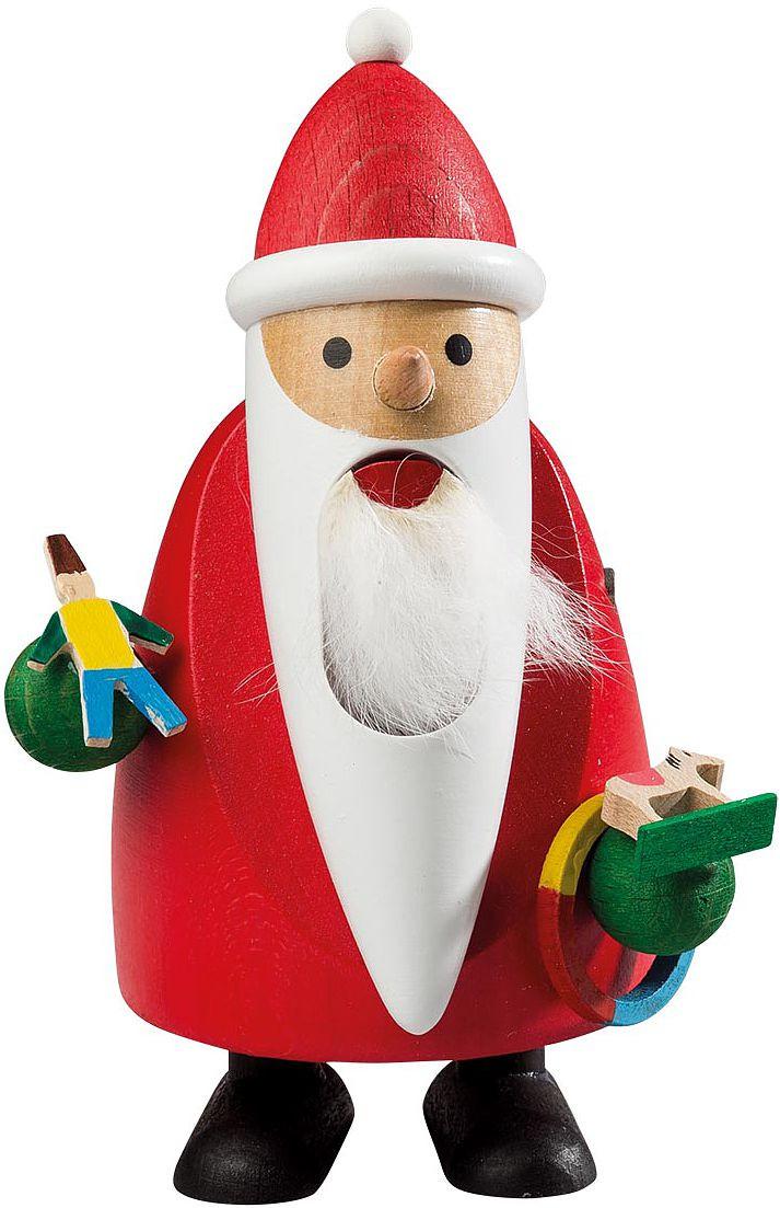 Nußknacker Langbart Santa mit Spielzeug