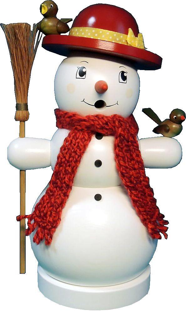 Räucherfrau Schneefrau